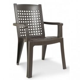 Lot de 4 fauteuils de jardin style fer forgé