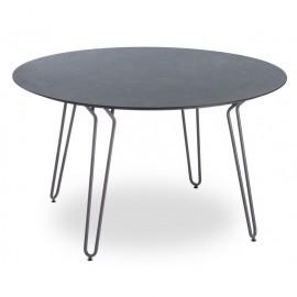 Table Ramatuelle Ø130 cm pieds métal