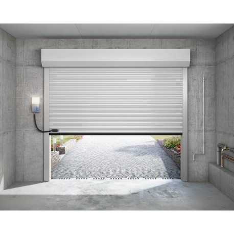Porte de garage enroulable castellane - Porte enroulable garage ...