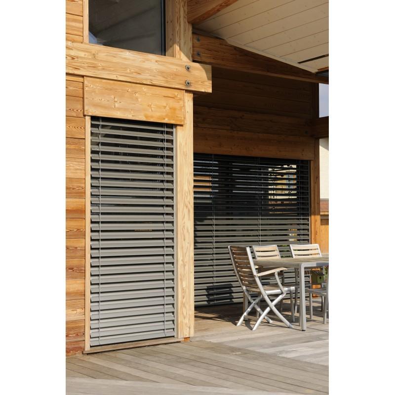 brise soleil orientable haut de gamme motoris. Black Bedroom Furniture Sets. Home Design Ideas
