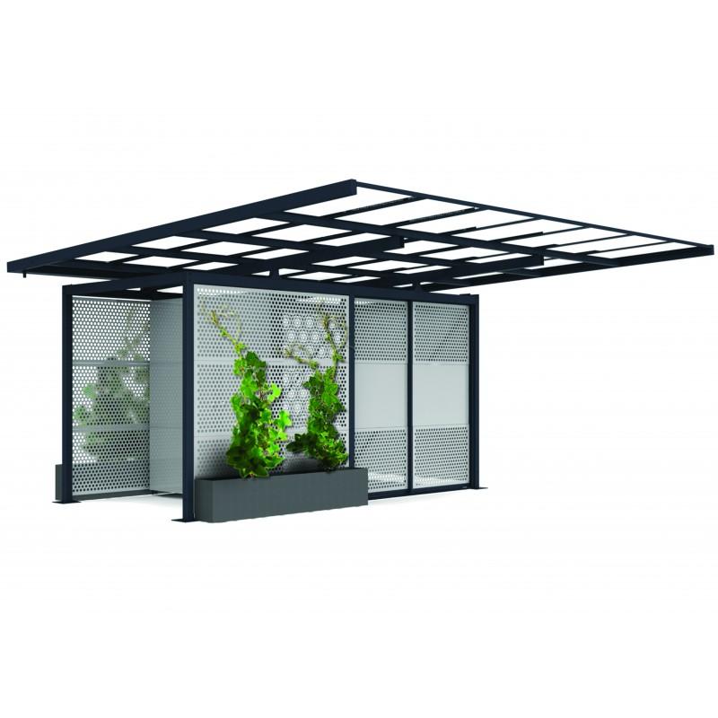 abris voiture carbox cubique. Black Bedroom Furniture Sets. Home Design Ideas