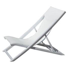 Transat bains de soleil haute qualit grosfillex menui 39 pro for Transat bois pliant