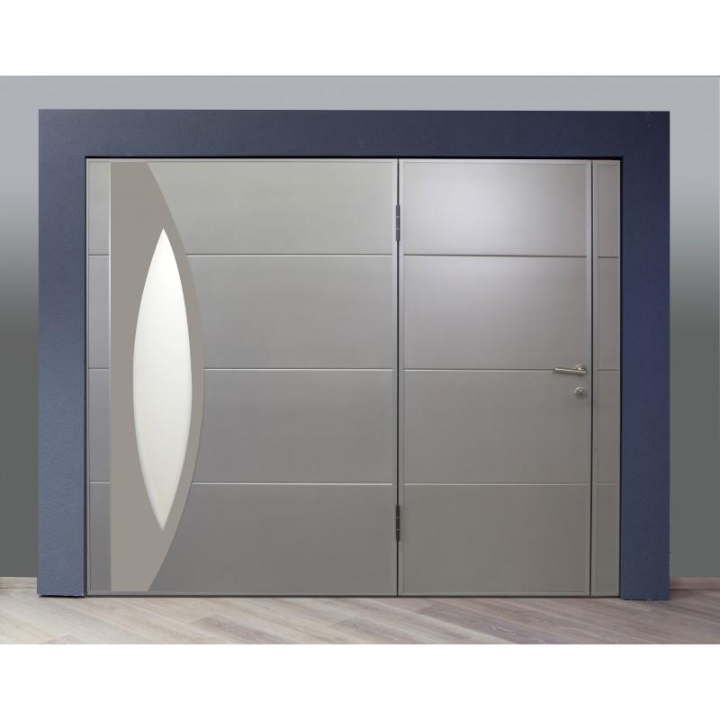 porte de garage auto port e cadre acier renforc pas de rail plafond. Black Bedroom Furniture Sets. Home Design Ideas